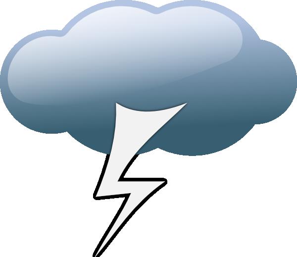 Thunderstorm Weather Symbol
