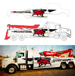 Tow Truck Graphic Design