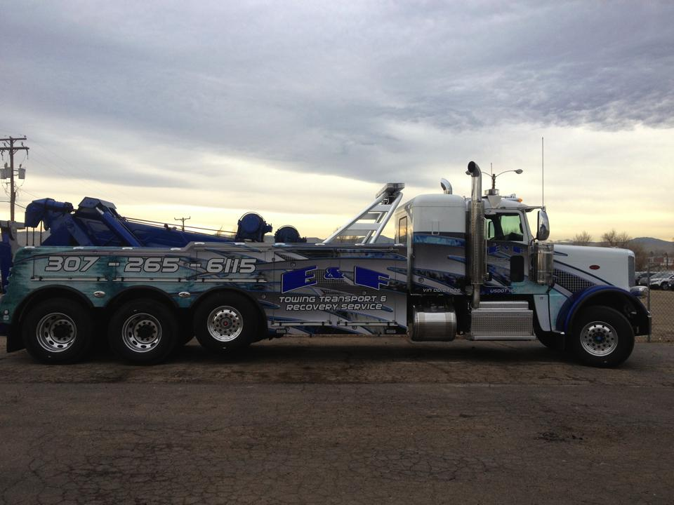Tow Truck Graphic Wraps