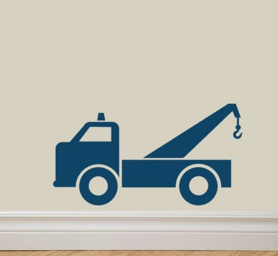 Tow Truck Graphics Decals