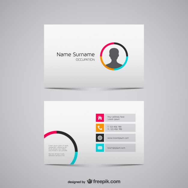 Vector Graphic Business Cards