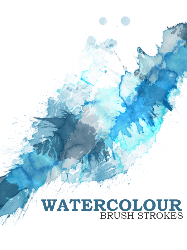 Watercolor Photoshop Brush
