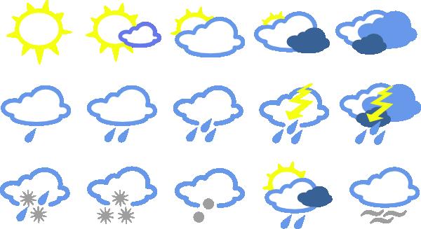 Weather Symbol Clip Art