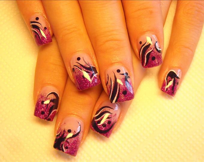 Crazy line nail designs choice image nail art and nail design ideas wild  nail designs graham - Wild Nail Designs Graham Reid