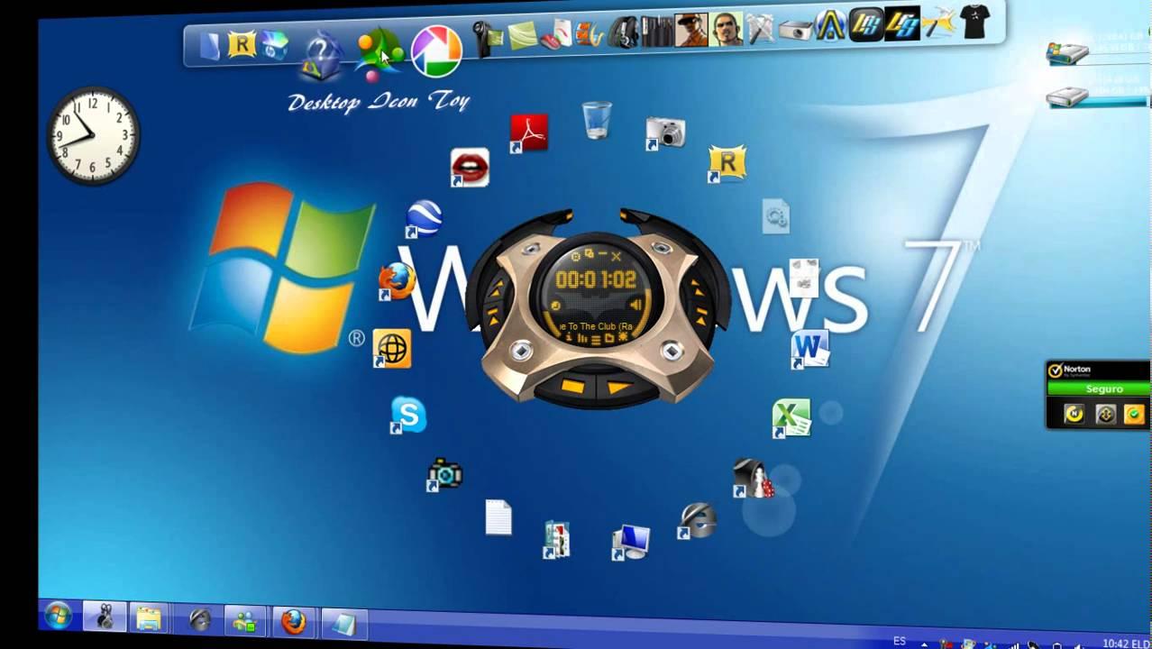 6 Windows 7 Desktop Icon Toy Images - Desktop Icon Toy, YouTube