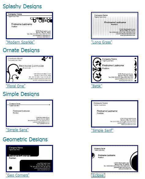 7 printable business card template 8371 images 8371 for Avery templates for business cards free