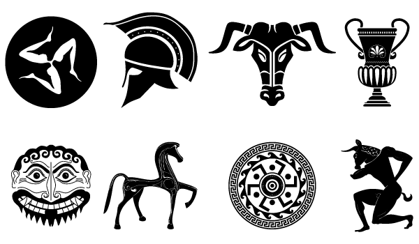 Ancient Greek Symbols and Designs