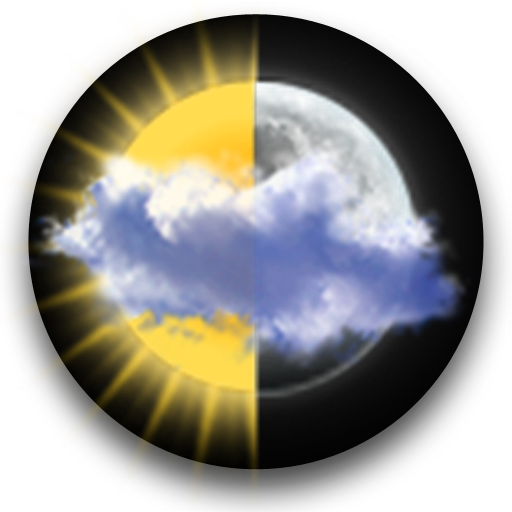 Animated Weather Widget Clock