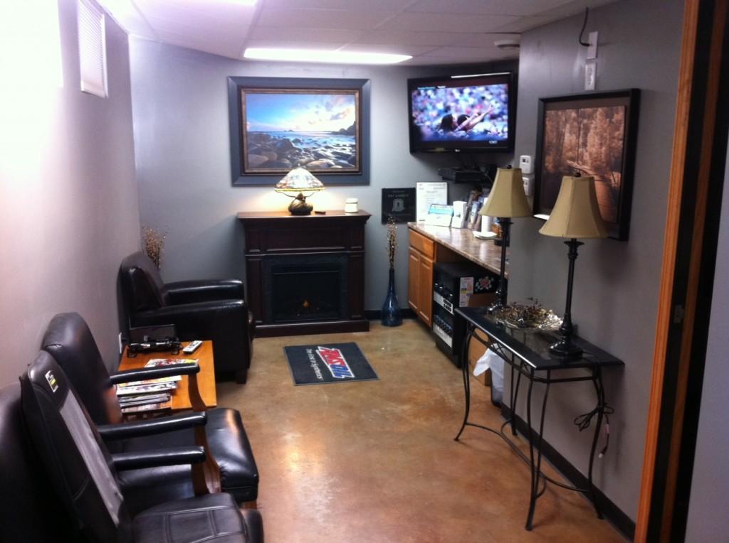 Automotive Waiting Room Design