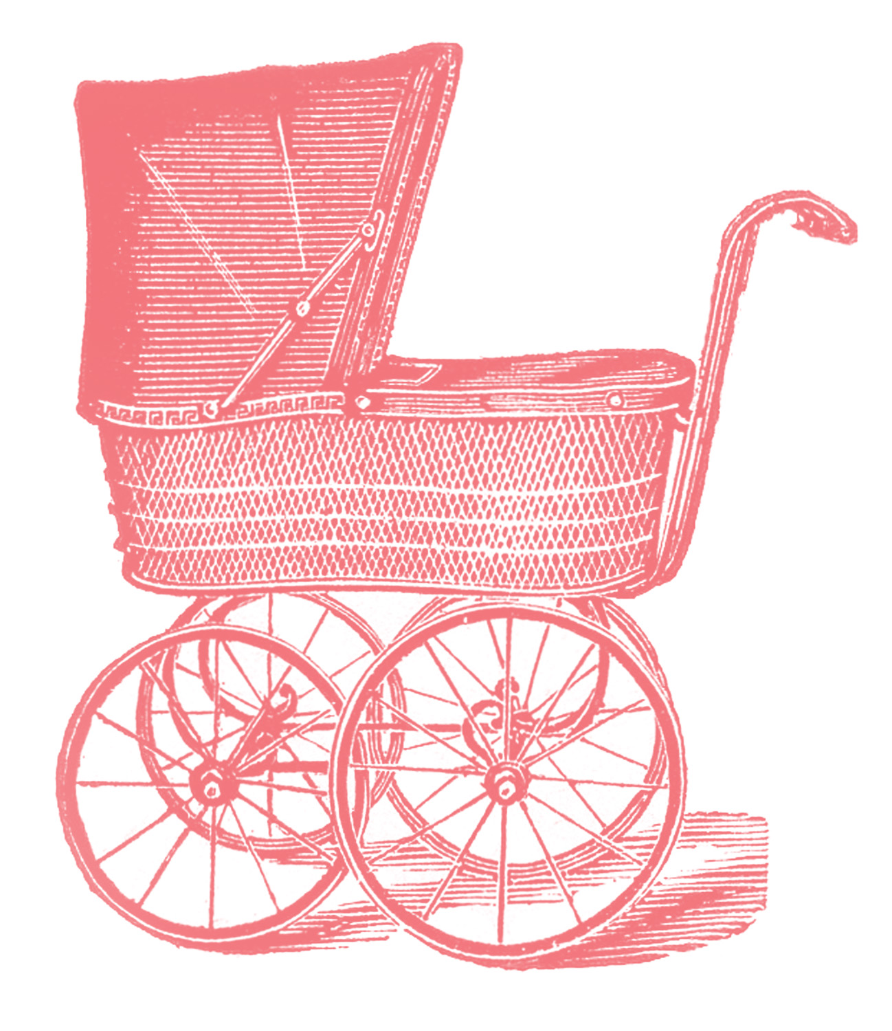 Baby Carriage Clip Art