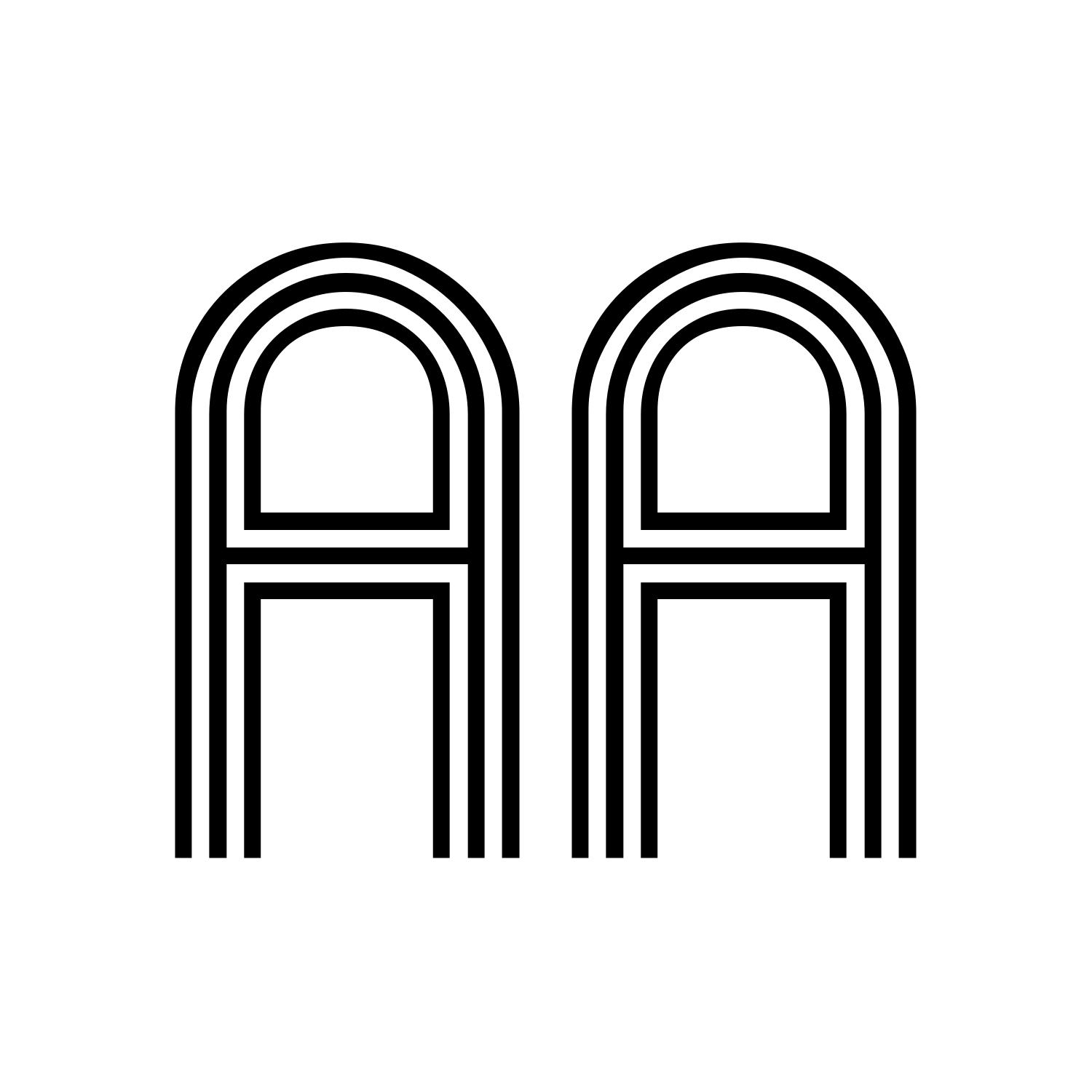 15 Striped Line Font Images - Retro Striped Line Font, Retro