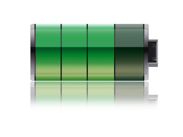 Batteries Icon Graphic