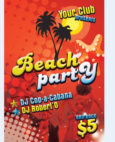 7 Party People PSD Images