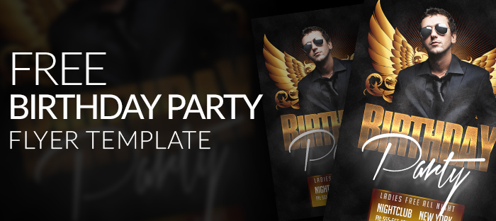 20 Adult Party Flyer Psd Images Photoshop Psd Birthday Party