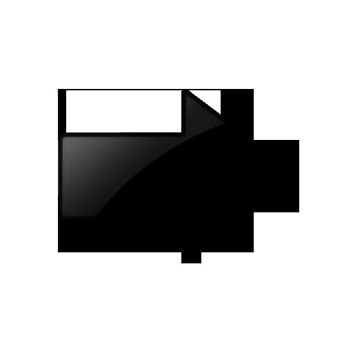 10 Black Arrow Icon Images