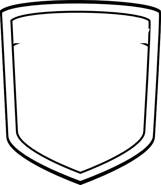 Blank Shield Template
