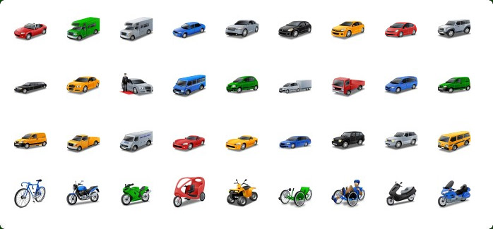 Car Icons Free Windows 7
