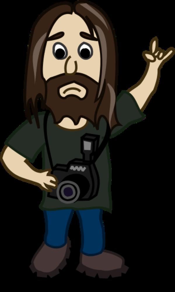 Cartoon Camera Man Clip Art