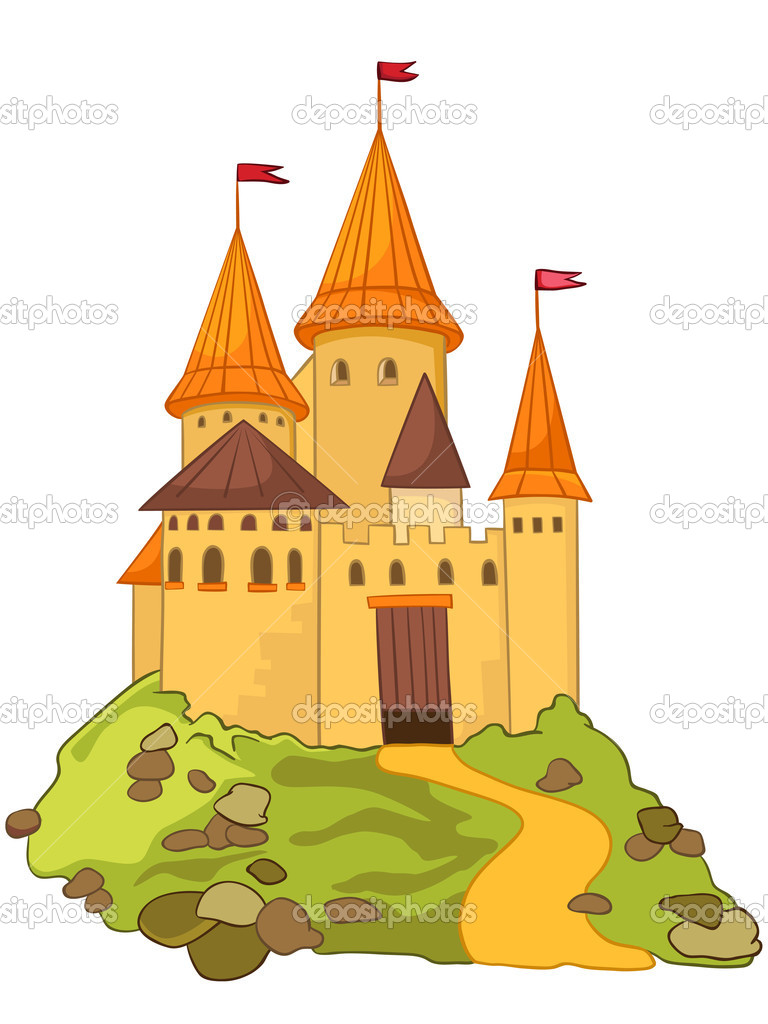 Castle Illustration Cartoon