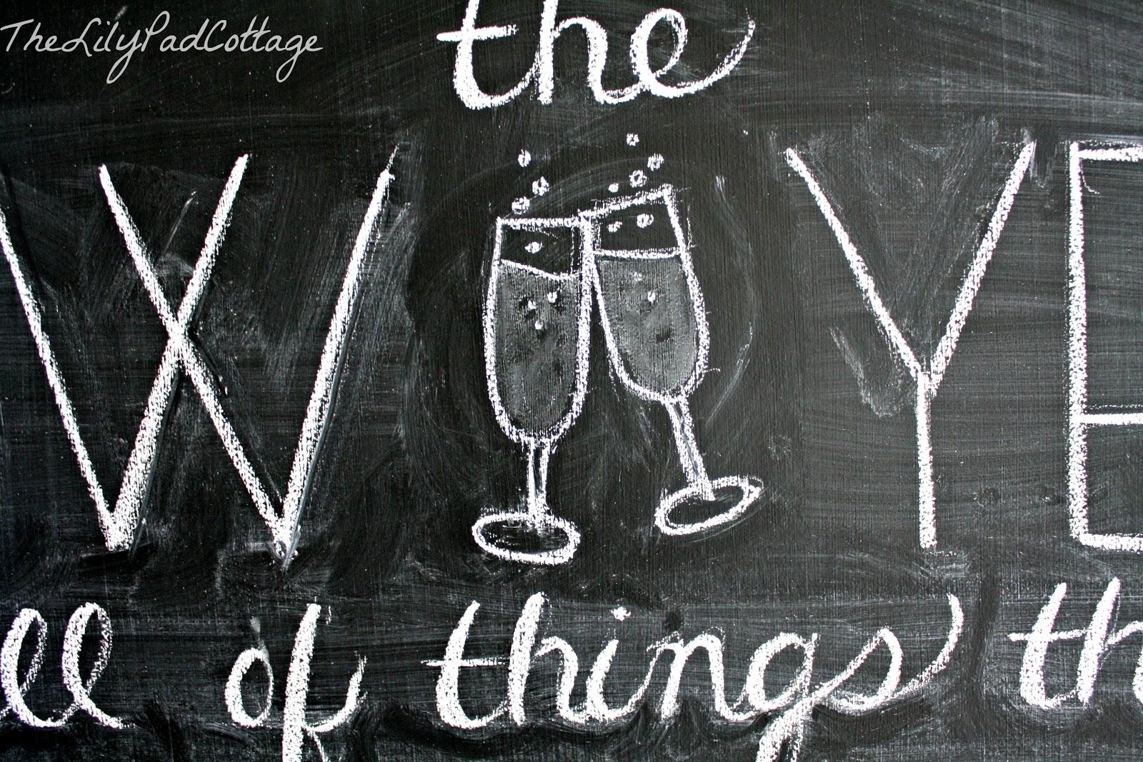 Chalkboard Writing Clip Art