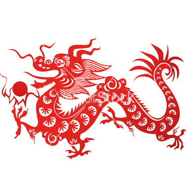 17 China Dragon Vector Images