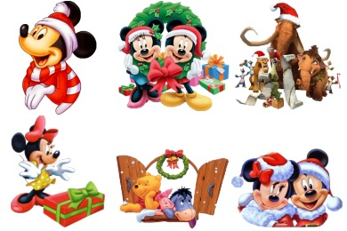 Christmas Cartoon Icons