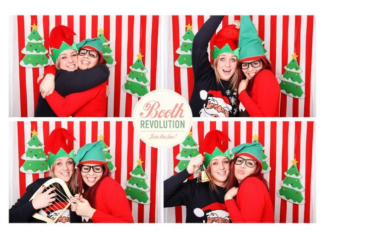 christmas photo booth backdrop ideas