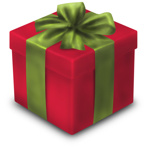 8 Christmas Gift Icon Images