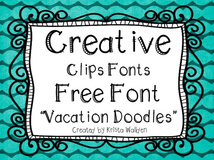Clip Art Free Chalkboard Fonts