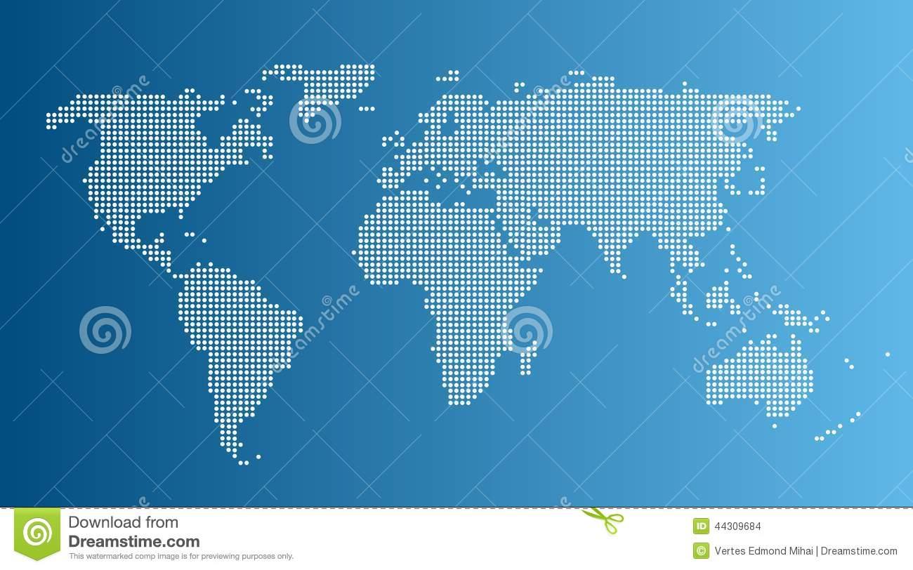 Computer Graphic World Map