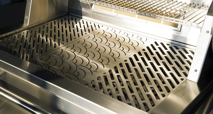 Custom Stainless Steel Grill Grates
