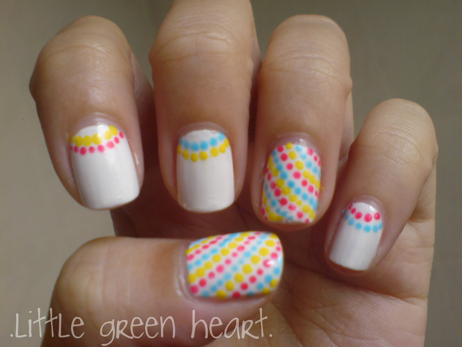 13 Simple But Cute Nail Designs Images