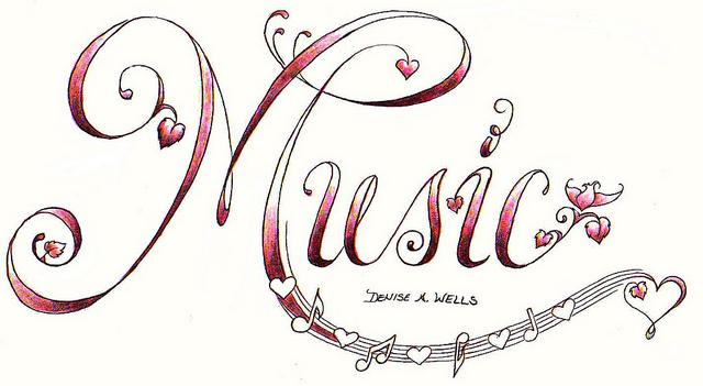 Denise a Wells Music Note Tattoo Designs