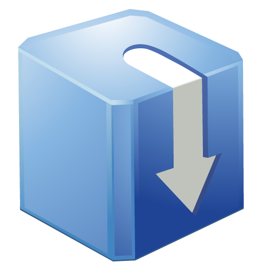 7 Download Icon PNG Blue Images