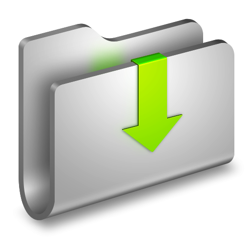 12 3D Folder Icon PNG Templat Images