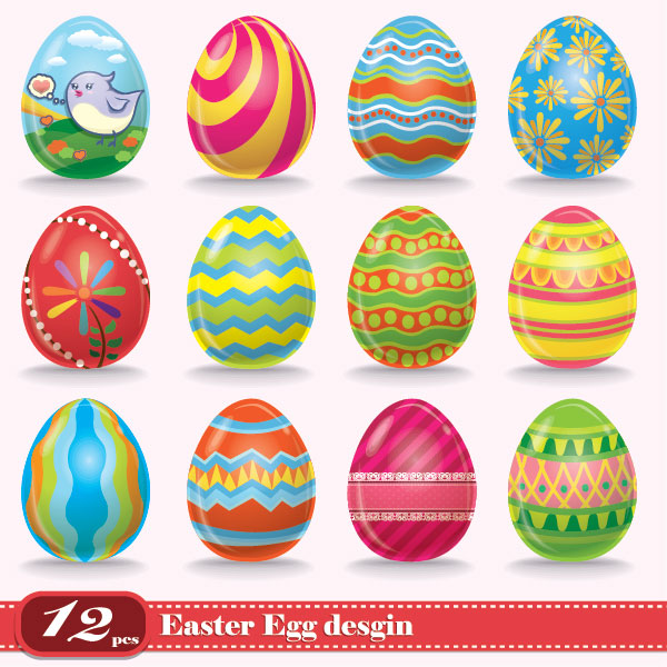 15 Easter Egg Designs Images