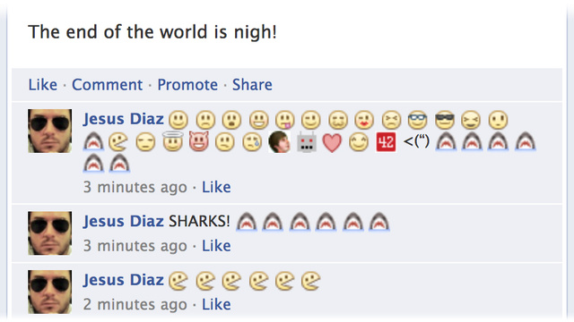 Facebook Comment Emoticons
