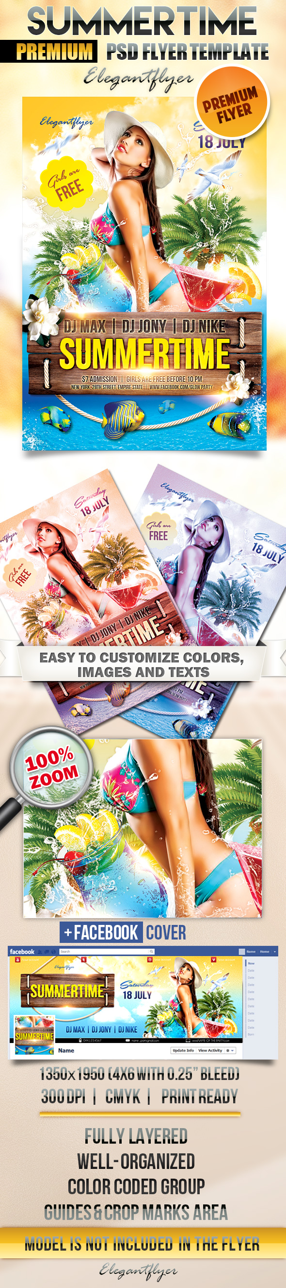 18 Free PSD Flyer Cover Images