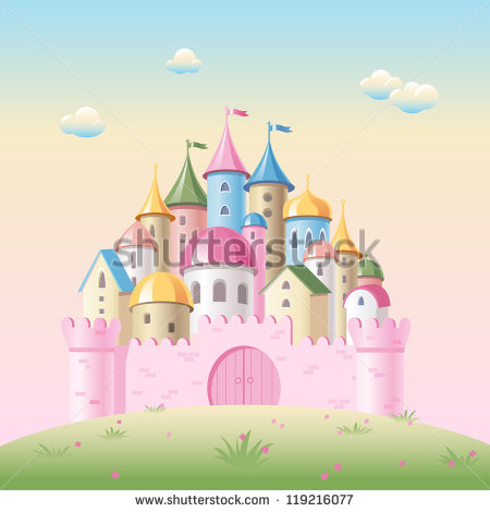 Fairy Tale Castle Cartoon