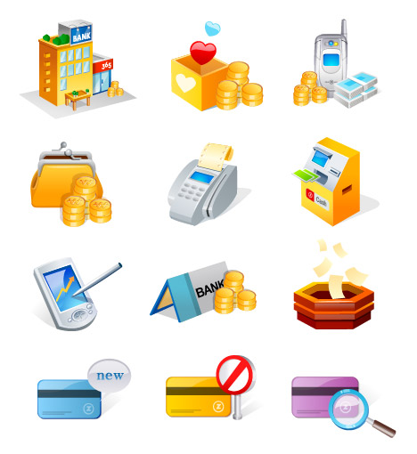Financial Icons Free Download