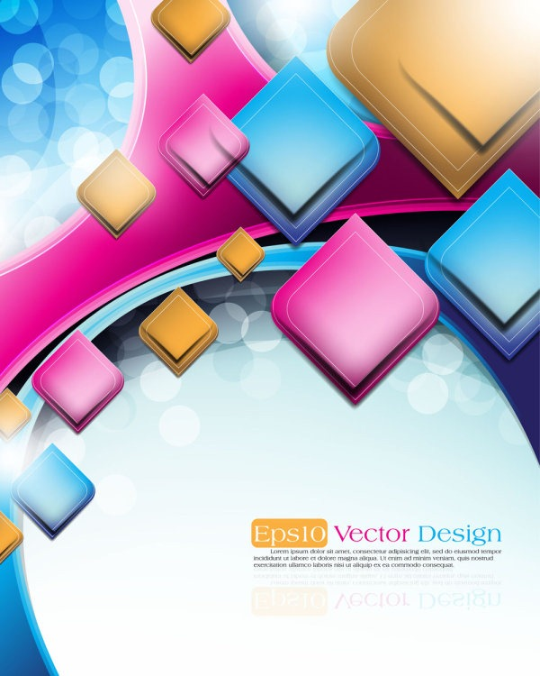 Free Abstract Vector