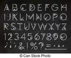 Free Clip Art Chalkboard Font