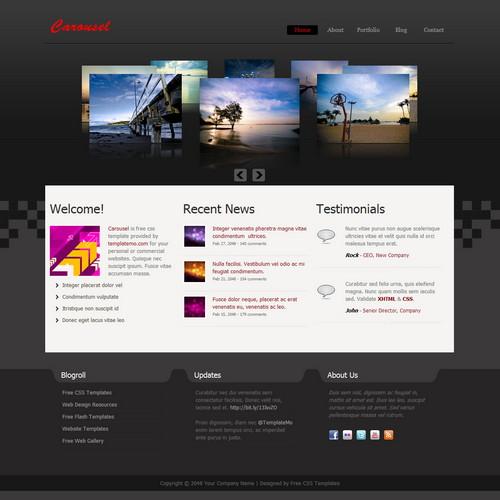 Free Dreamweaver Templates
