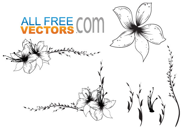 Free Flower Vector Graphic Clip Art