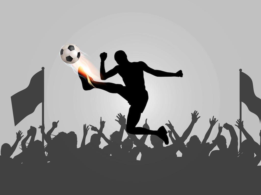 Free Football Vector Art