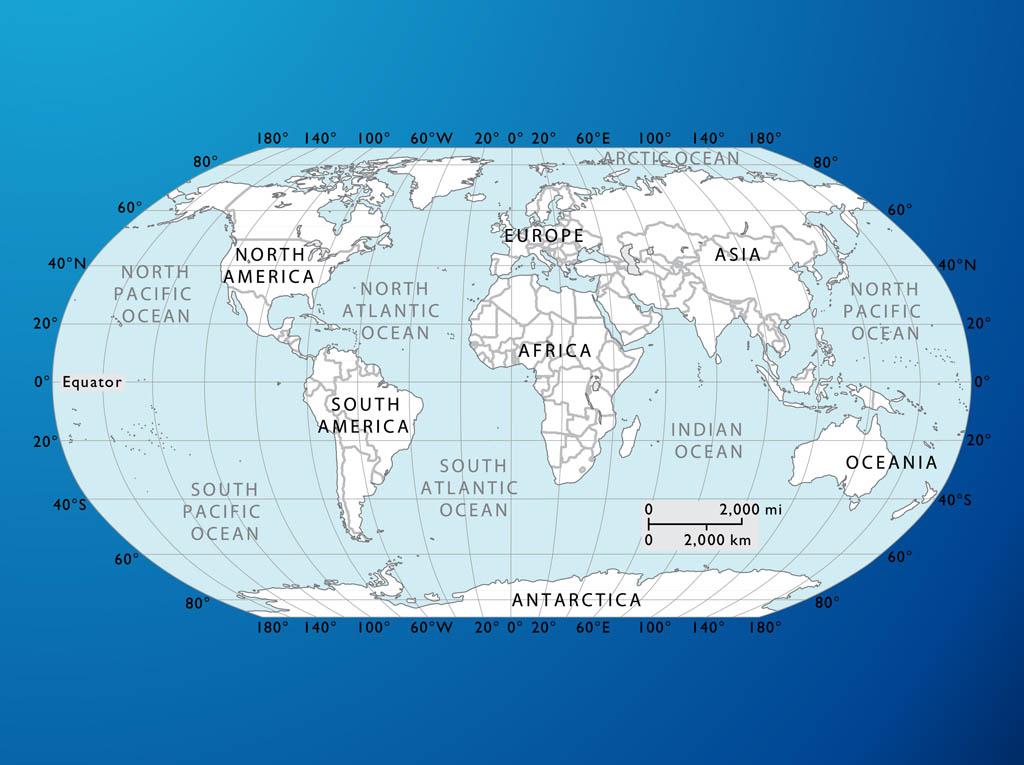 Free Graphic World Map
