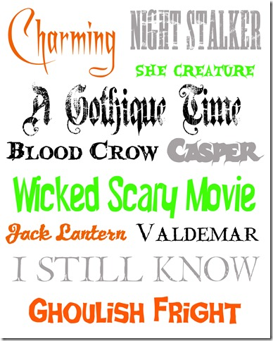 14 Cute Halloween Fonts Free Images - Free Halloween Fonts