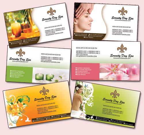 Free Massage Business Card Templates
