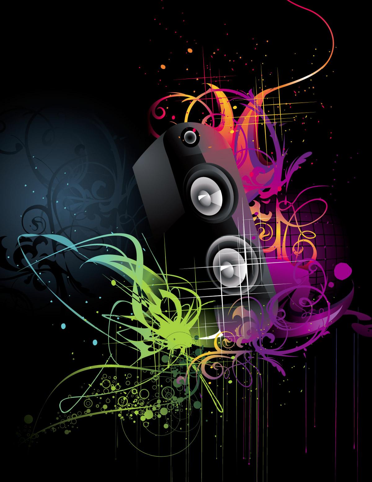 Free Music Vector Art