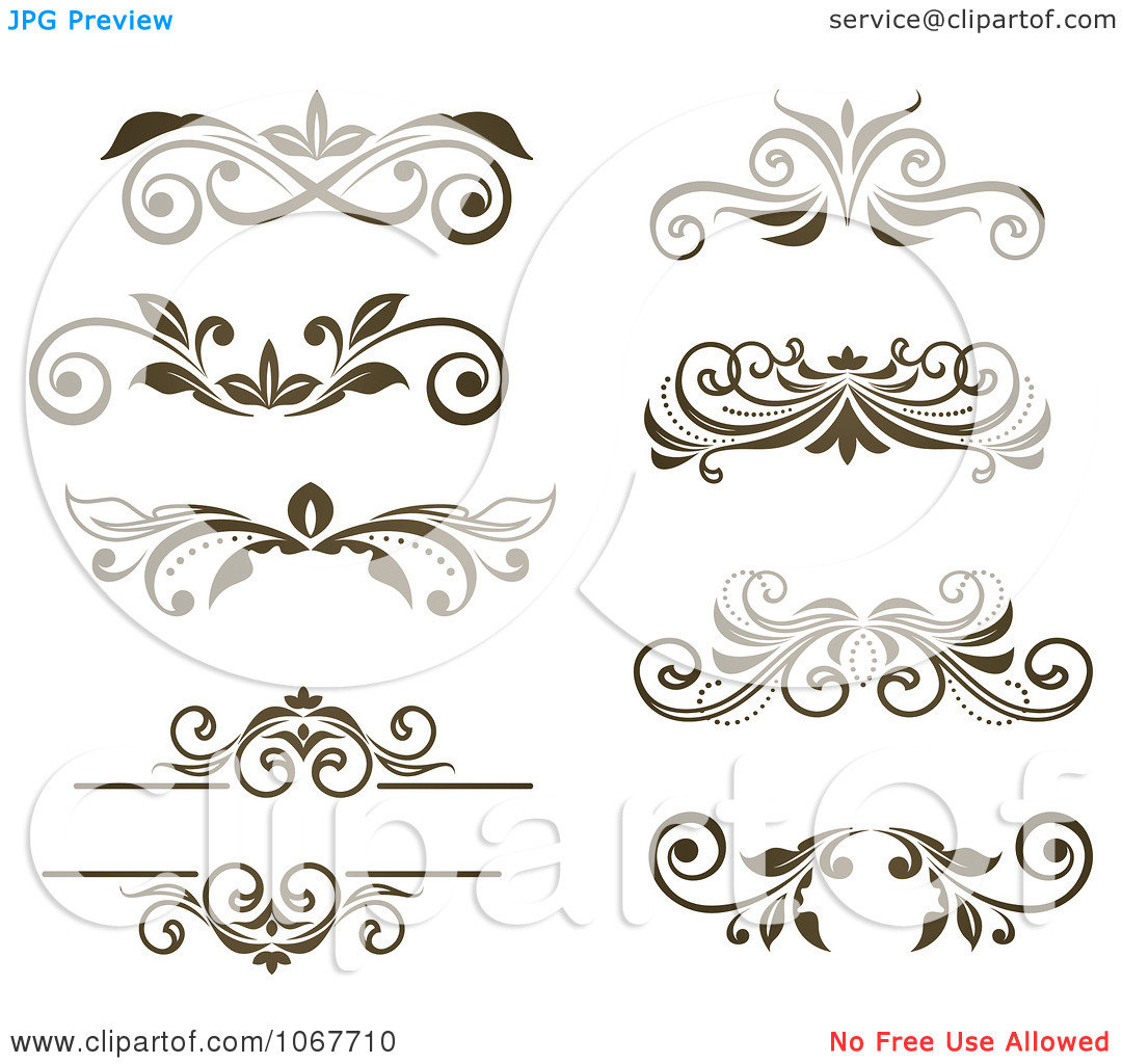 16 moon vector scroll designs images free scroll vector clip art
